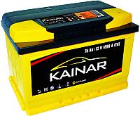 Автомобильный аккумулятор Kainar 75 R+ низкий / 075 12 20 02 0141 05 06 0 L (75 А/ч) -