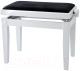 Стул для музыкантов Gewa Deluxe 130020 (белый матовый/черное сиденье) -