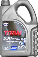 Моторное масло Fuchs Titan Syn PRO Gas 10W40 / 601004322 (4л) -