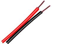 Кабель Electraline 10838 (20м, красный/черный) -