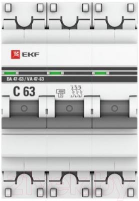 Выключатель нагрузки EKF PROxima ВН-63 3п 40А