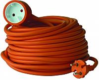 Удлинитель Electraline 01618 (20м, оранжевый) -