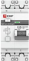 Дифференциальный автомат EKF PROxima АД-32 25/30 2п -