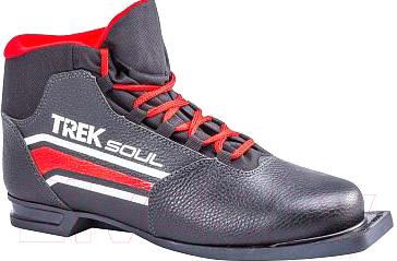 Ботинки для беговых лыж TREK Soul Comfort 2 NN75 (черный/красный, р-р 45)