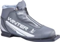 Ботинки для беговых лыж TREK Winter Comfort 4 (металлик/серебристый, р-р 33) -