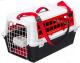 Переноска для животных Ferplast Atlas 10 Trendy Plus / 73027199 (красный) -