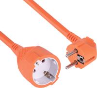 Удлинитель Electraline 01626 (10м, оранжевый) -