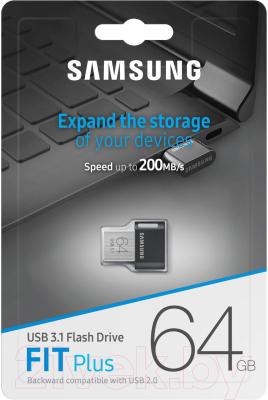 Usb flash накопитель Samsung FIT Plus 64GB (MUF-64AB/APC)