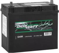 Автомобильный аккумулятор Gigawatt 0185754555 (45 А/ч) -