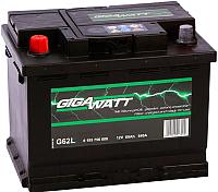 Автомобильный аккумулятор Gigawatt 560408054 (60 А/ч) -