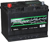 Автомобильный аккумулятор Gigawatt 568405055 (68 А/ч) -