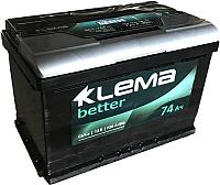 Автомобильный аккумулятор Klema Better 6CT-74 АзЕ (74 А/ч) -