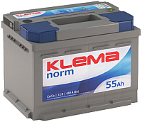 Автомобильный аккумулятор Klema Norm 6CT-55 АзЕ (55 А/ч) -