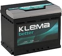 Автомобильный аккумулятор Klema Better 6CT-60 АзЕ (60 А/ч) -