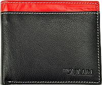 Портмоне Cedar Cavaldi N992-GDL (черный/красный) -