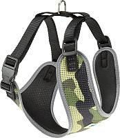 Шлея-жилетка для животных Ferplast Nikita Fashion P XXS / 75468902 (зеленый) -