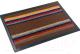 Коврик грязезащитный VORTEX Comfort 45x75 / 22386 (коричневый) -
