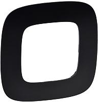 Рамка для выключателя Legrand Valena Allure 754401 (матовый черный) -