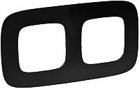 Рамка для выключателя Legrand Valena Allure 754402 (матовый черный) -