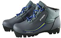 Ботинки для беговых лыж Atemi А300 Jr NNN (серый, р-р 30) -