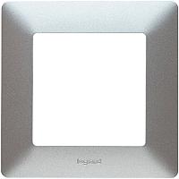 Рамка для выключателя Legrand Valena Life 754137 (алюминий) -