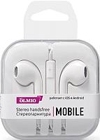 Наушники-гарнитура Olmio Mobile / 038843 (белый) -