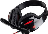 Наушники-гарнитура GENESIS H44 / NSG-0533 (черный/красный) -