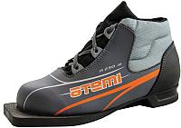 Ботинки для беговых лыж Atemi А230 Jr Grey NN75 (р-р 30) -