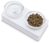 Набор мисок для животных Catit 54532 (белый) -