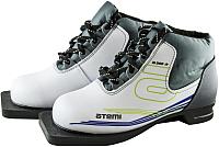 Ботинки для беговых лыж Atemi A200 Jr White NNN (р-р 30) -
