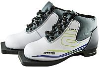 Ботинки для беговых лыж Atemi А200 Jr White NN75 (р-р 31) -