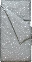 Комплект постельного белья Martoo Comfy B 1.5 / 1.5CMB-P-3-GRST (поплин, звезды на сером) -