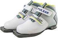 Ботинки для беговых лыж Atemi А240 Jr White NN75 (р-р 31) -