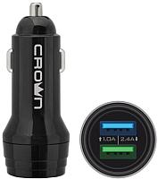 Зарядное устройство автомобильное Crown CMCC-3011 -