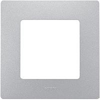 Рамка для выключателя Legrand Etika 672551 (алюминий) -