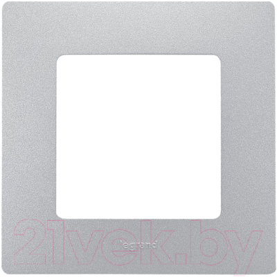 Рамка для выключателя Legrand Etika 672551 (алюминий)