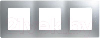 Рамка для выключателя Legrand Etika 672553 (алюминий)
