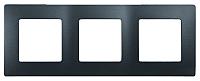 Рамка для выключателя Legrand Etika 672583 (антрацит) -