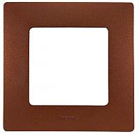 Рамка для выключателя Legrand Etika 672571 (какао) -