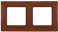 Рамка для выключателя Legrand Etika 672572 (какао) -