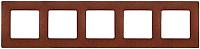 Рамка для выключателя Legrand Etika 672575 (какао) -