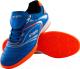 Бутсы футбольные Atemi SD300 Indoor (голубой/оранжевый, р-р 30) -