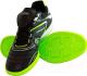 Бутсы футбольные Atemi SD300 Indoor (черный/салатовый, р-р 30) -