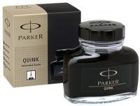 Чернила для перьевой ручки Parker S0037460 (черный) -