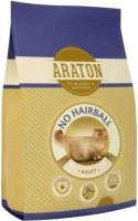 Корм для кошек Araton Cat Adult No Hairball Chicken & Beef / ART24293 (400г) -