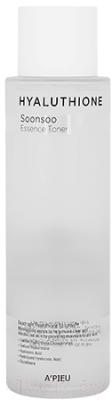 Фото - Тонер для лица A'Pieu Hyaluthione Soonsoo Essence Toner увлажняющий увлажняющий тонер для лица с витаминами vitamin moisture toner 250мл
