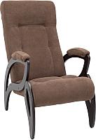 Кресло мягкое Импэкс 51 (венге/Verona Brown) -