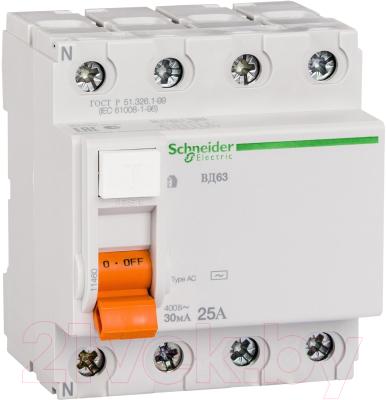 Дифференциальный автомат Schneider Electric Домовой 11460