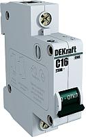 Выключатель автоматический Schneider Electric DEKraft 11055DEK -
