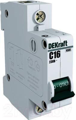 Выключатель автоматический Schneider Electric DEKraft 11058DEK